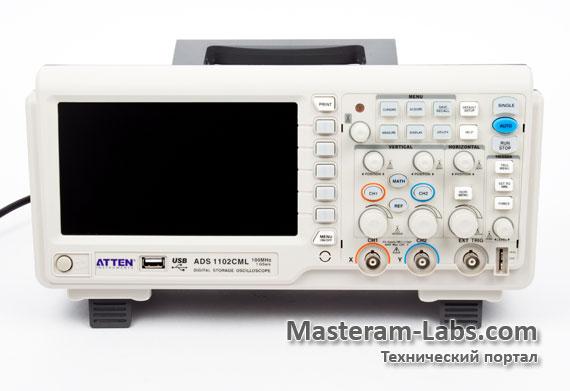 Цифровой осциллограф Atten ADS1102CML